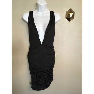 NWT TOBI Gareth Plunging Bodycon Party Dress M